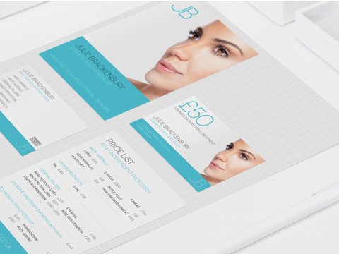 JBCosmetic branding and responsive web design